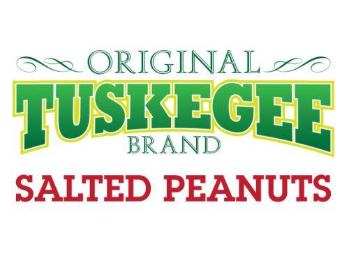 Tuskegee Brand Salted Peanuts Logo