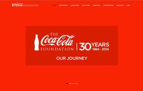 Coca-Cola Foundation Website